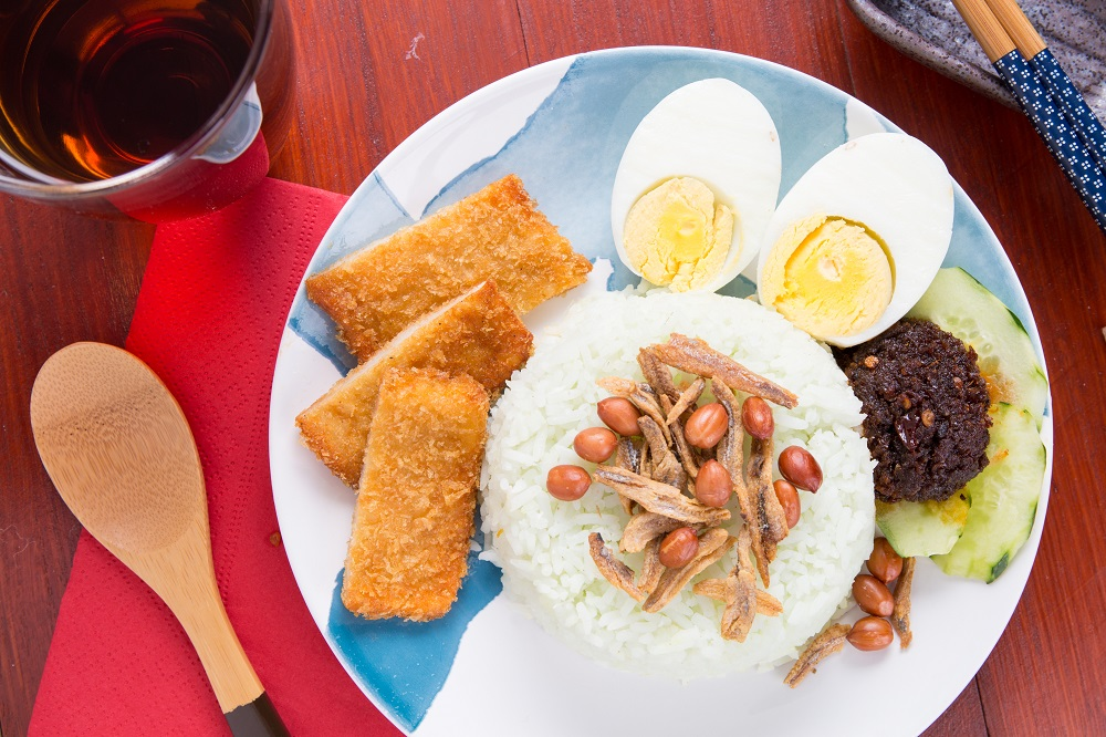 Nasi Lemak Bento w/ Fish Fillet (Sold In 10s)